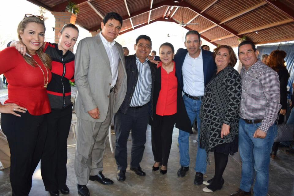 Malova festeja cumpleaños con miembros de su Gabinete en palapa de la Constructora Gusa, empresa que ganó 214 millones 634 mil 627 pesos en contratos de obra pública.