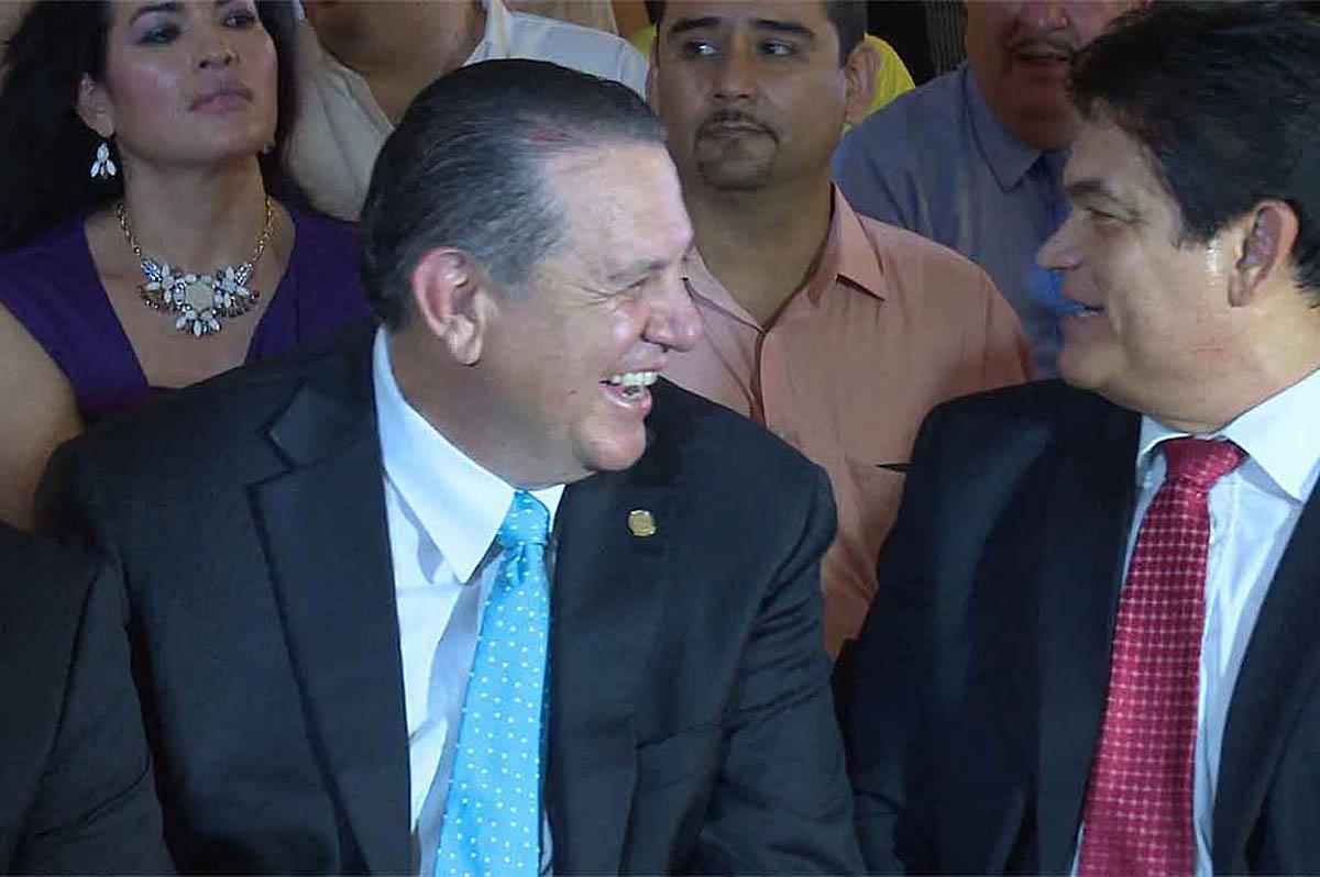 Rubén Félix Hays y Mario López Valdez son amigos de larga data. El empresario coordinó en la zona norte la campaña a la Gubernatura en 2010.
